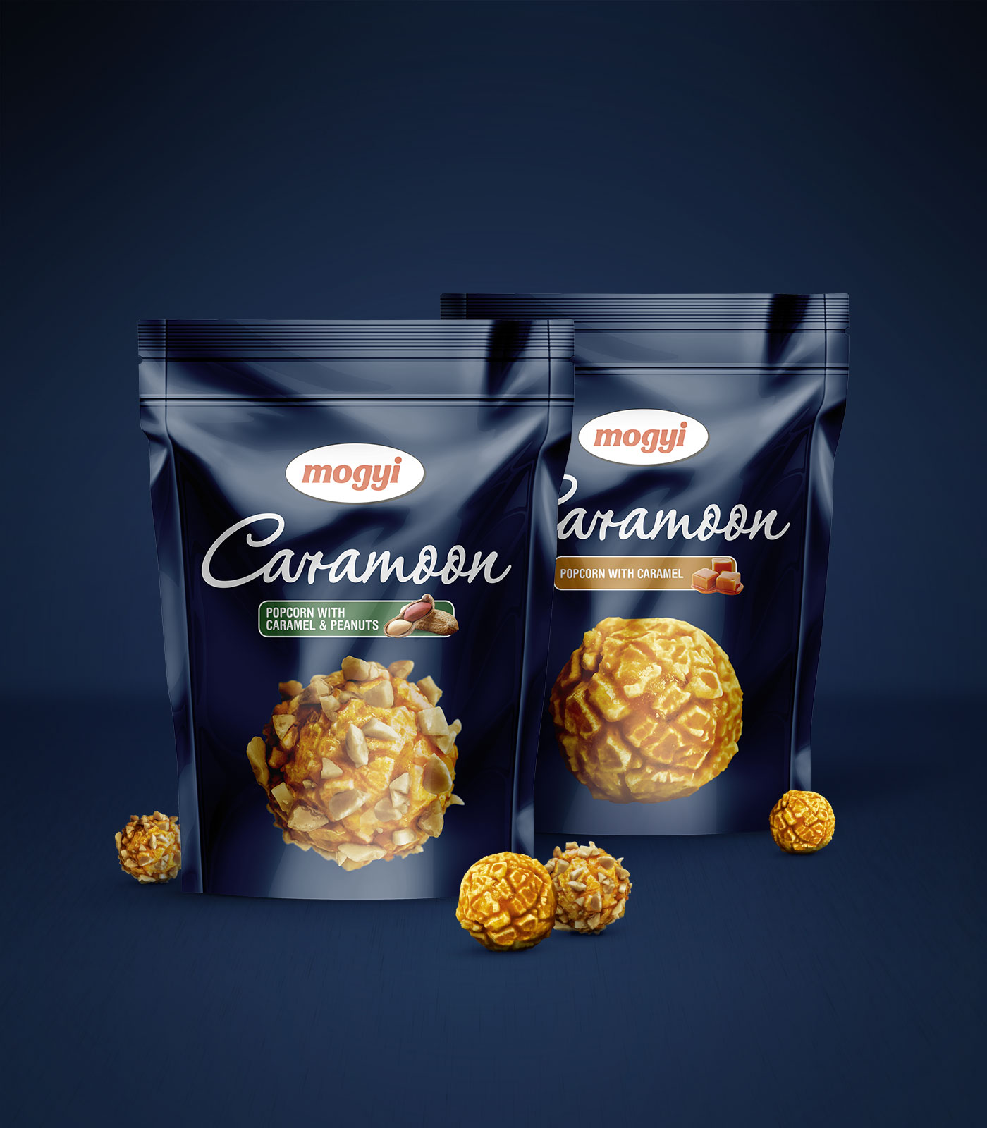 Mogyi Carammon - Popcorn with Caramel & Peanuts